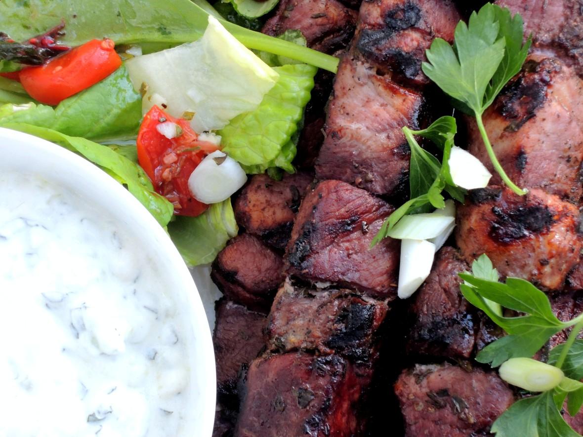 Kebabs, souvlakia hirina 2
