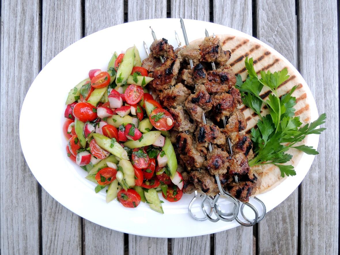 Kebabs, Turkish lamb kebabs 1