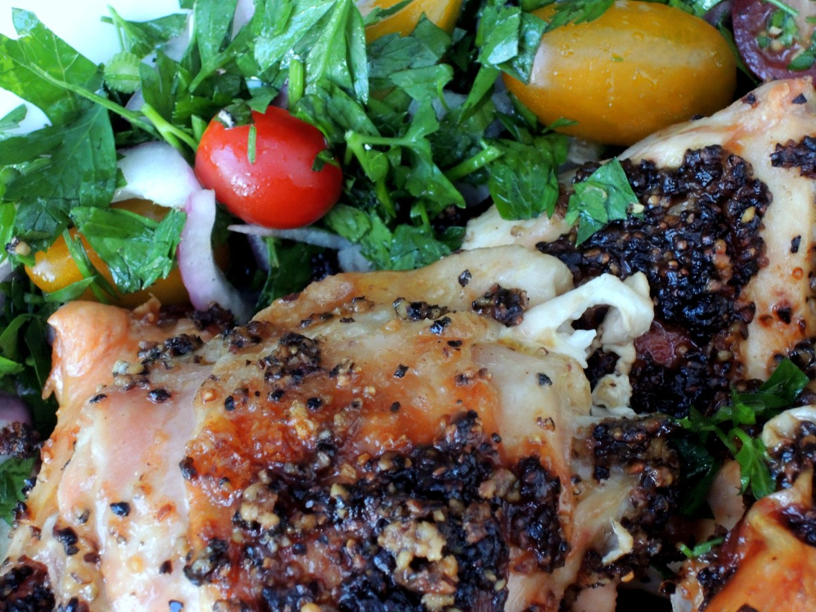 Chicken, roasted (cut up), pollo al diavolo 2
