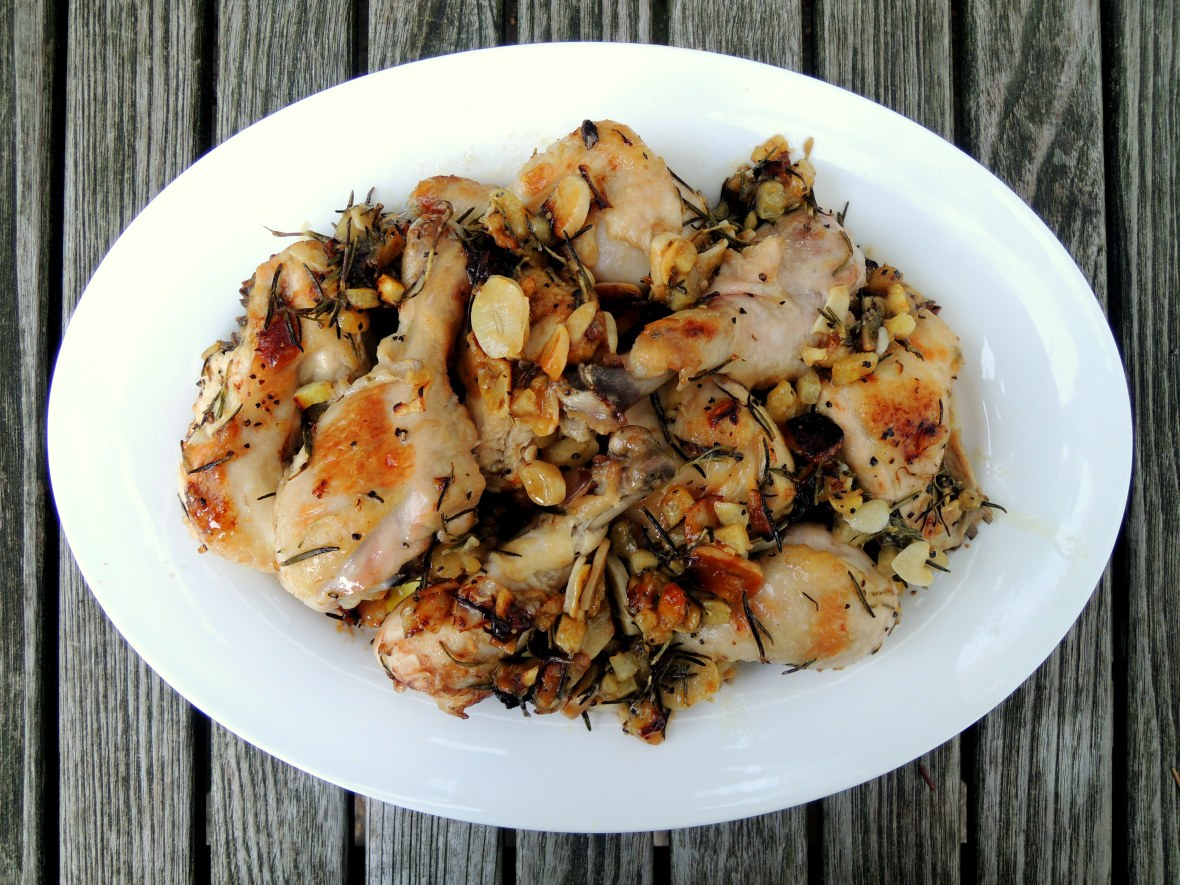 Chicken, roasted (cut up) with lemon 1