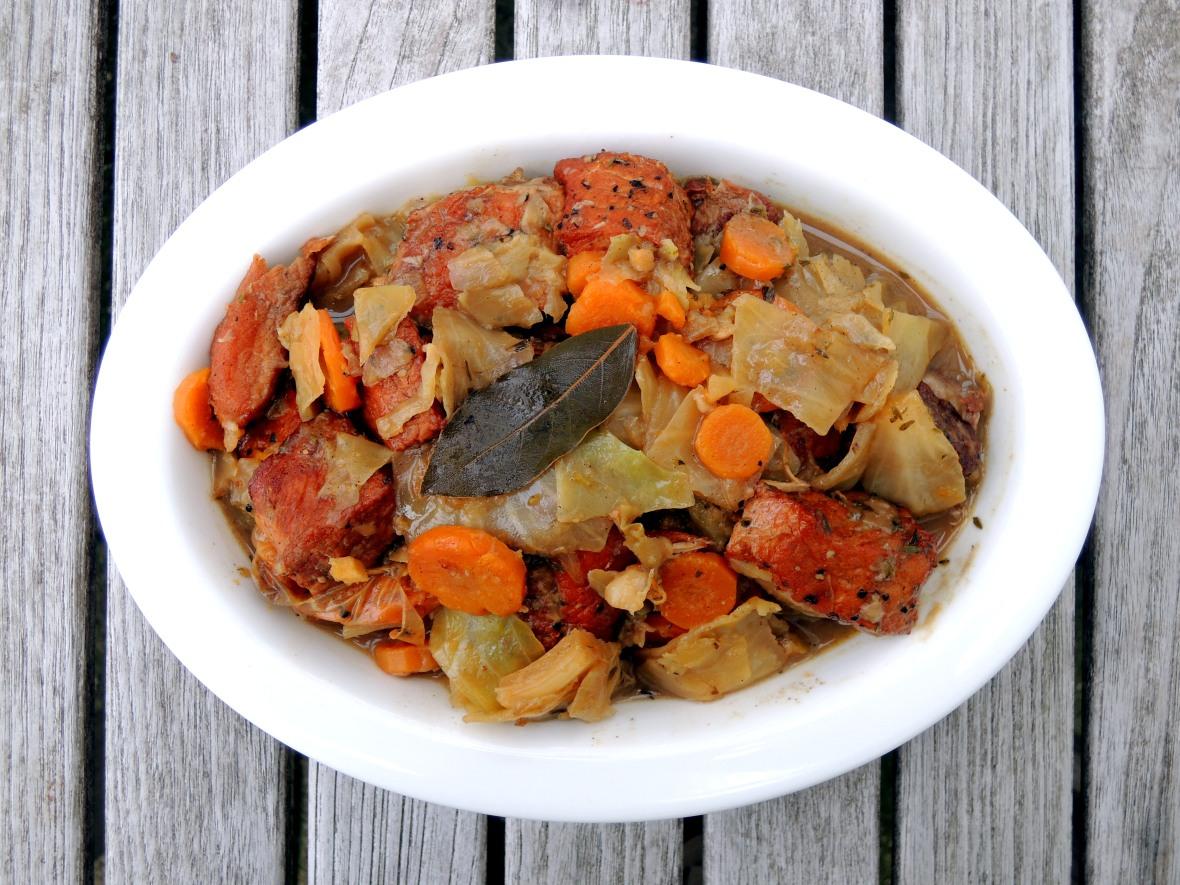 Pork, stews, Jamaican stew pork 1