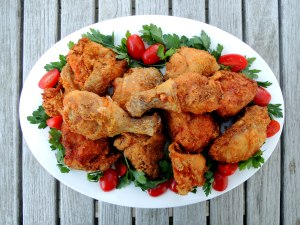 Chicken, fried, Southern fried chicken 1