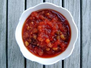 Condiments, chutneys, Shernaz Patel's coriander chutney 1
