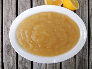 Condiments, applesauce, lemon applesauce 1