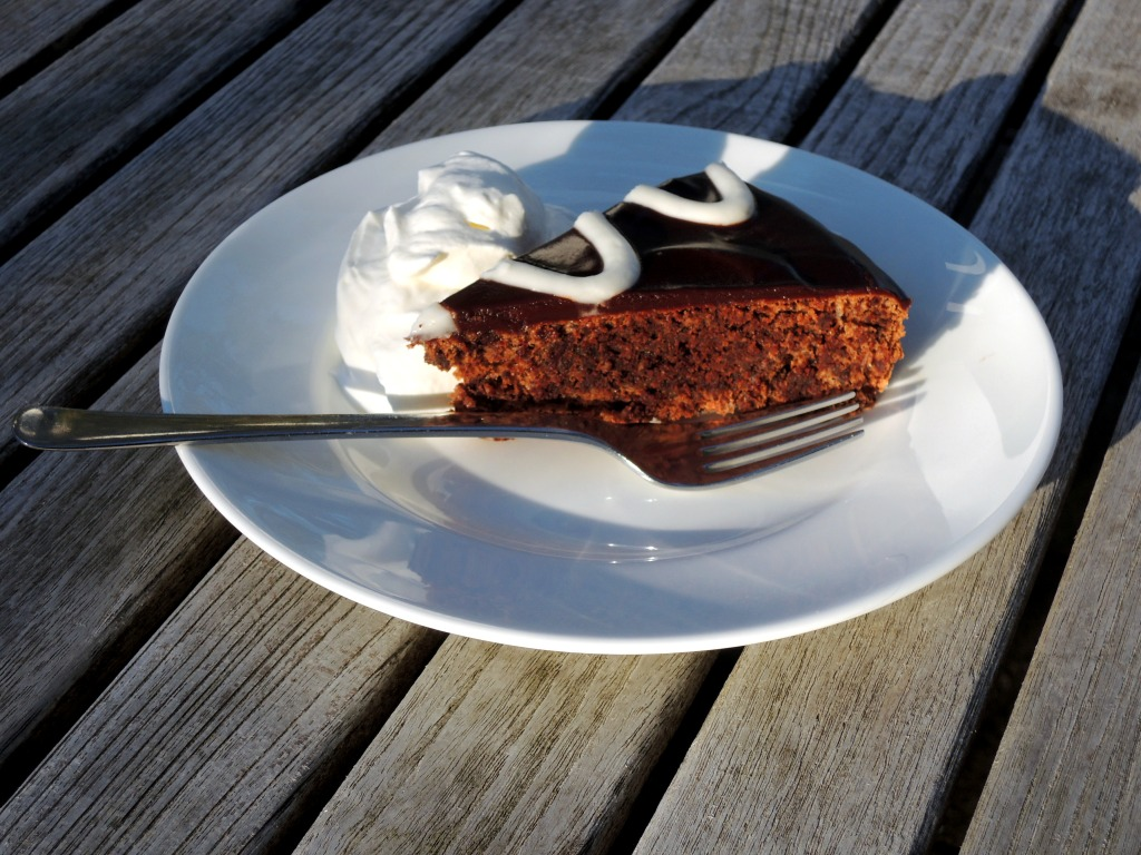 desserts, cakes, tortes, Mexican chocolate torte 4