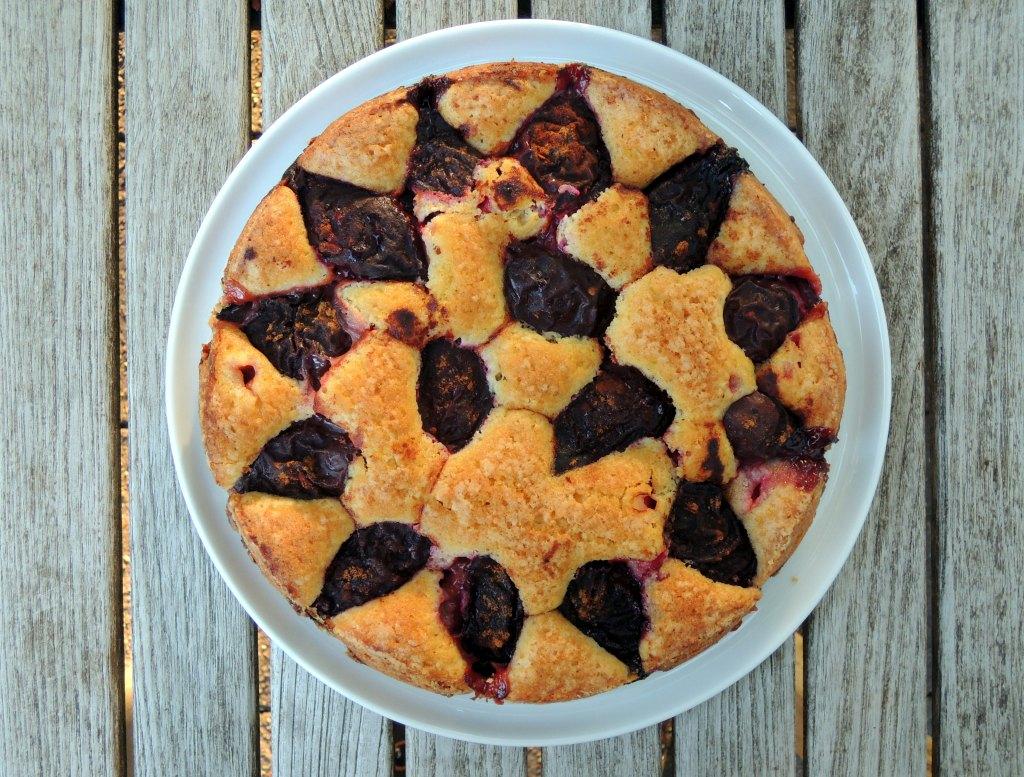 Desserts, cakes, tortes, purple plum torte 1