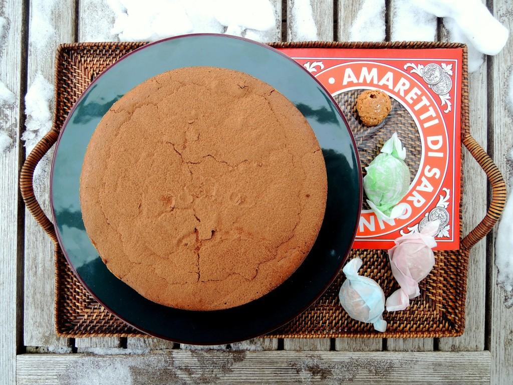 Desserts, cakes, tortes, torta di cioccolata alle mandorle 1