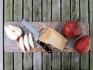Desserts, cheese and fruit, pears and Parmigiano-Reggiano 1