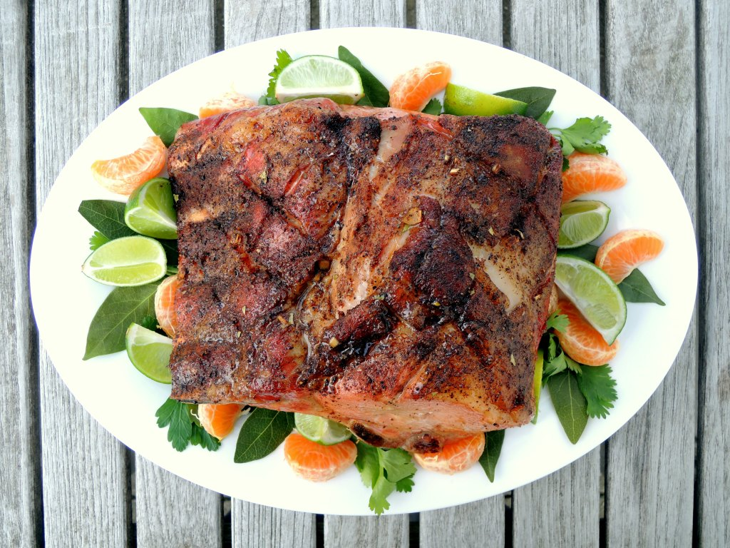 Pork, rib roasts, Jamaican calypso rib roast 1