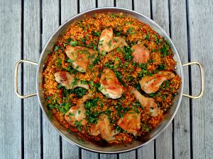 Rice, rice mains, arroz con pollo (Spanish) 1