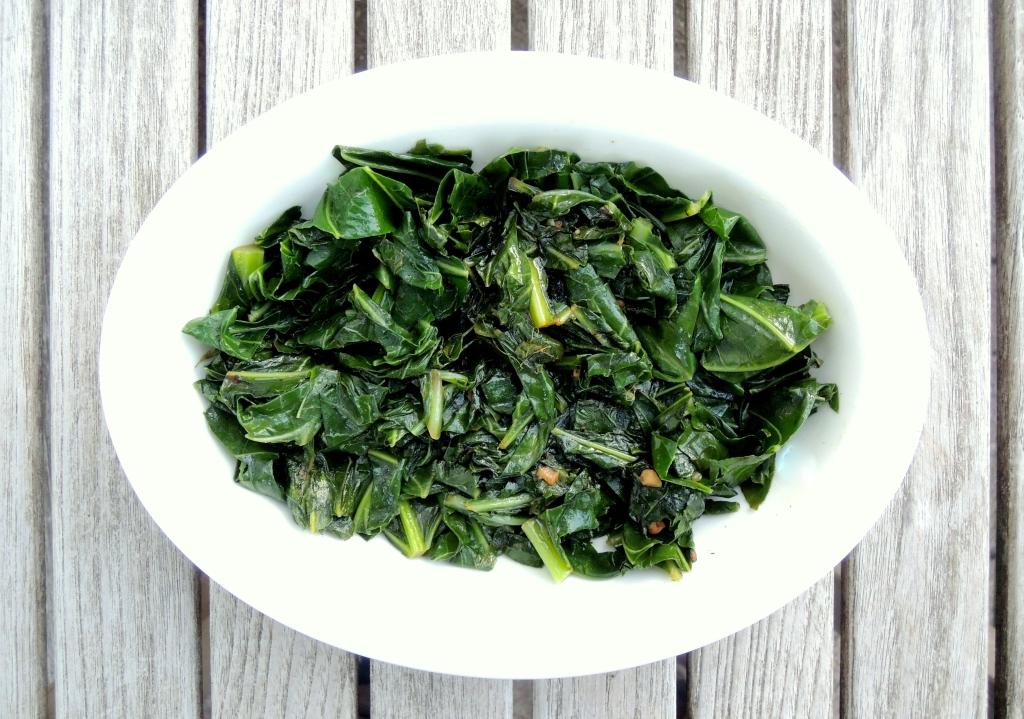 Vegetables, collard greens, couve a mineira 1