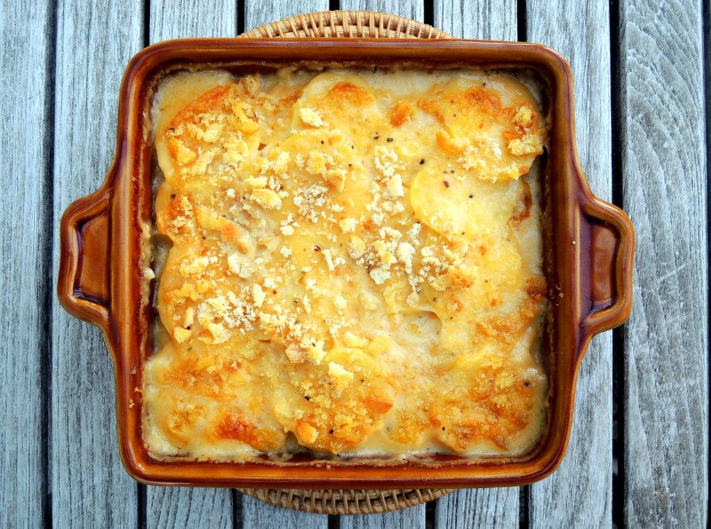 Vegetables, potato gratins, Nana's scalloped potatoes 1