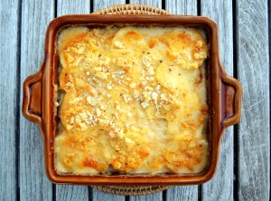 Vegetables, potato gratins, Nana's scalloped potatoes 1