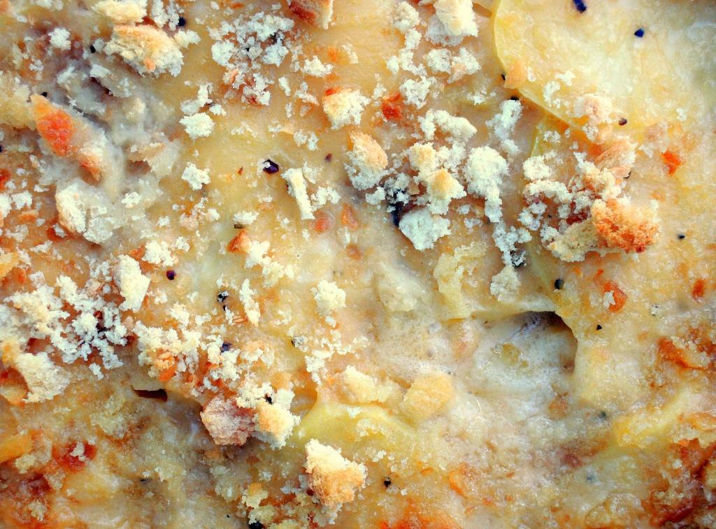Vegetables, potato gratins, Nana's scalloped potatoes 2
