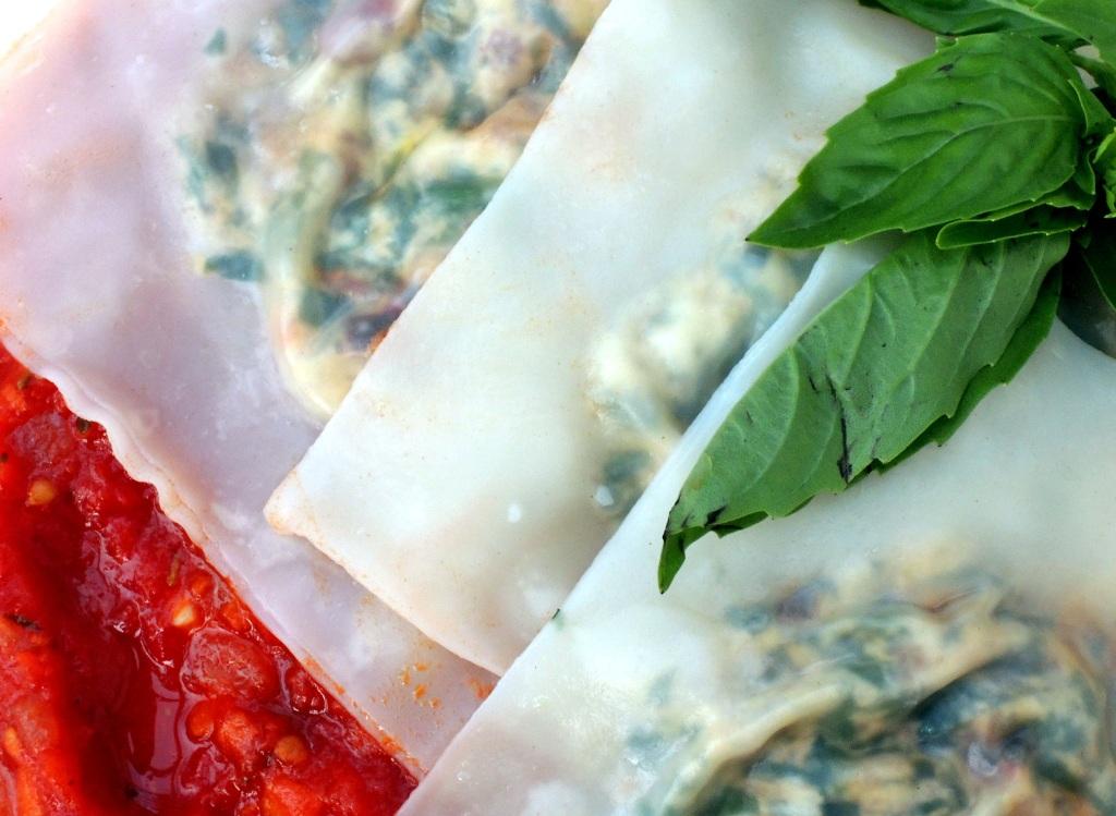 pasta, ravioli with bacon, ricotta and swiss chard 2