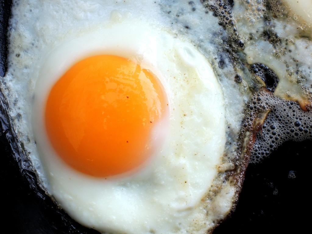 Eggs, fried eggs 3