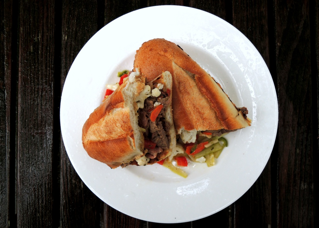 Sandwiches, Chicago style Italian beef sandwich 1
