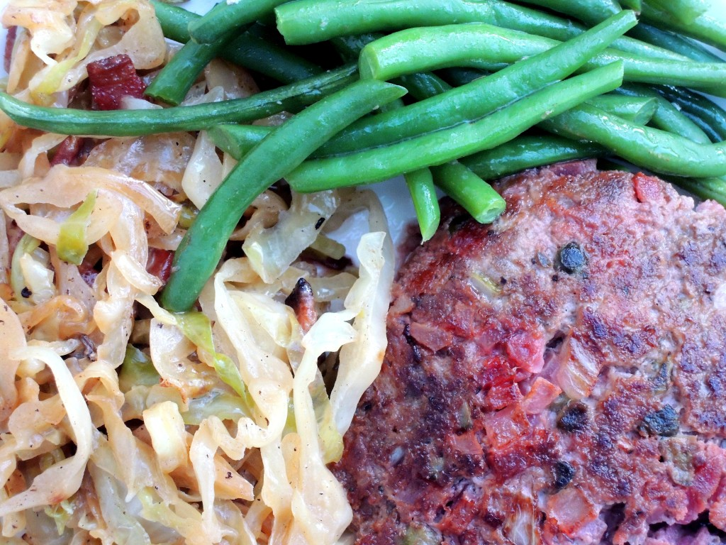Burgers, venison, biff a la Lindstrom 2