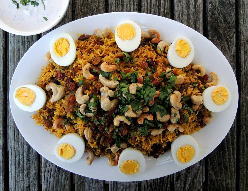 Rice, rice mains, murgh biryani 1