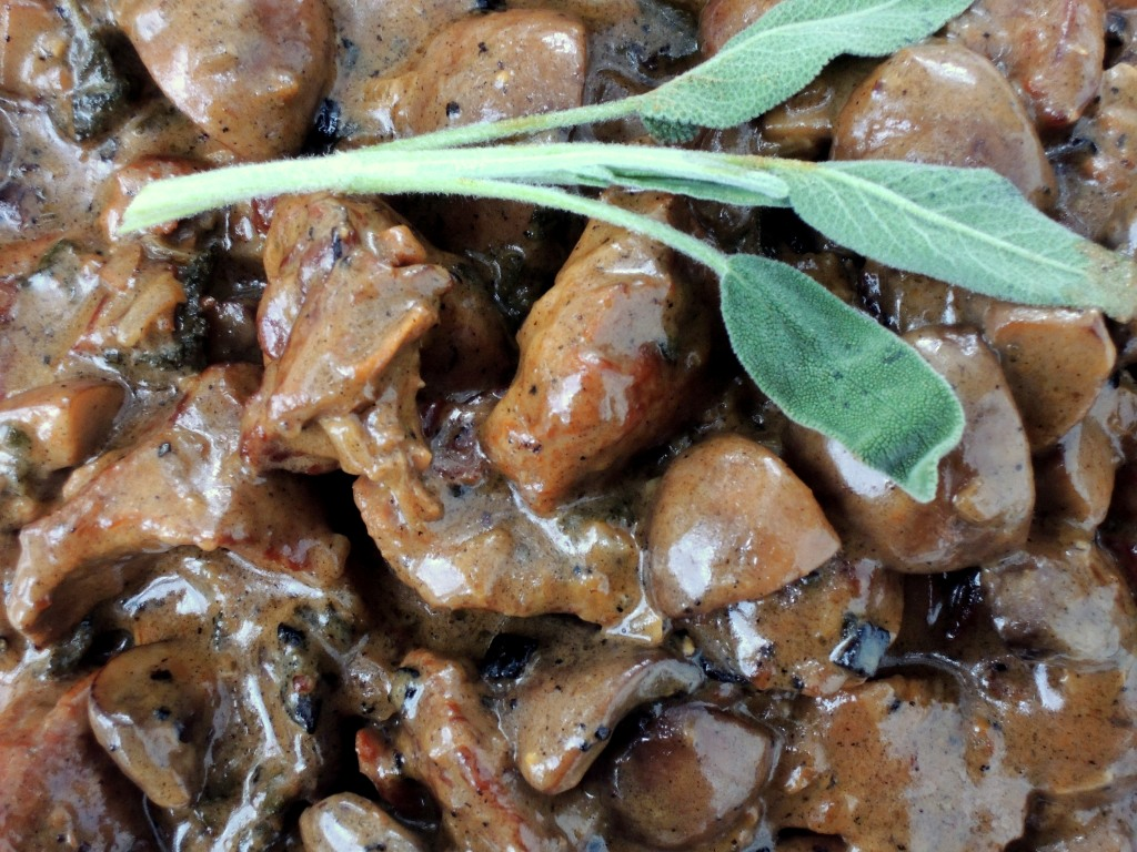 Veal, stews, veal stew with sage and white wine 3